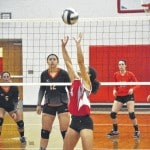 Twin Valley South volleyball teams up with Tri-Village for Volley for the Cure
