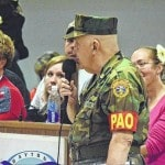 Jerry Feix, 84, gets Dayton Honor Flight to nation's capital, receives hero's welcome home