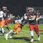 Breakout running back Matt Hall and late goal line stand help Arrows defeat Waynesville