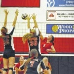 Preble Shawnee volleyball nearly upsets undefeated Waynesville