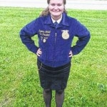 National FFA band selects local senior Suzanna Kimball as one of 96 students for the band at national convention