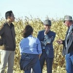Vonderhaars host international group on national tour with U.S. Grain Council