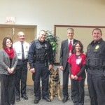 Eaton Police Department receives donation from Grandview Medical Center