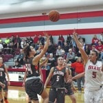National Trail Lady Blazers come up just shy in comeback bid against Dixie