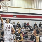 Tri-County North boys basketball loses close tilt with Covington
