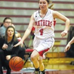 Tri-County North girls basketball loses to Franklin Monroe