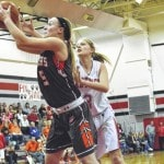 Lady Blazers halt losing skid after Laird's late 'and-one' against TCN