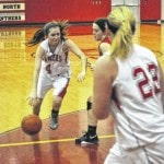 North girls lose two games on week