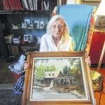 Painting donated to Preble County Room