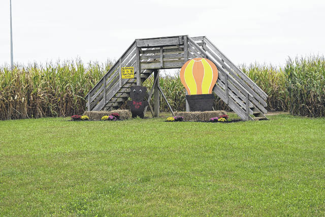 The corn maze at Today's Harvest started in 2005. The family owned farm wanted something to bring local families into the store and to provide them with an affordable activity to do during the fall.