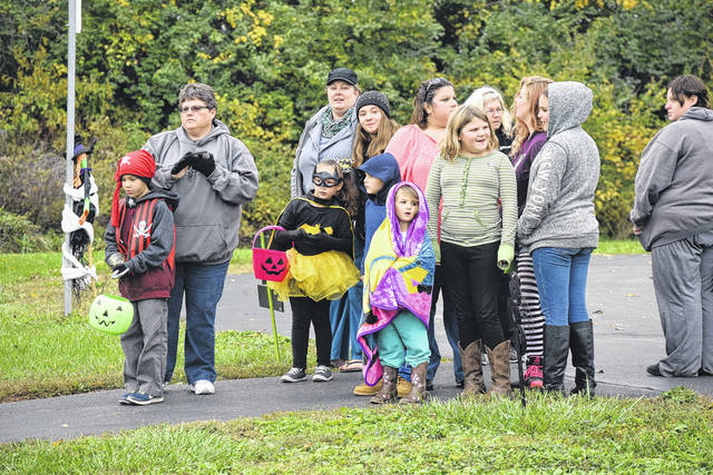 The Preble County Board of Developmental Disabilities hosted the annual Track-N-Treat at the ASK playground on Tuesday, Oct. 24.