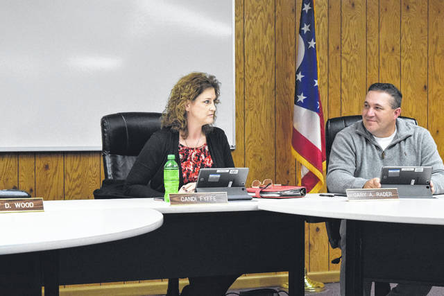 Many changes were (temporarily) made to the Preble Shawnee Board of Education during the meeting on Thursday, Nov. 9. President Candi Fyffe resigned early, due to moving out of district, and the board had to appoint member Jeff Wood as temporary president (until the new year). In the near future, the board will have to appoint a temporary member, but that decision will not be made until the regular December meeting.