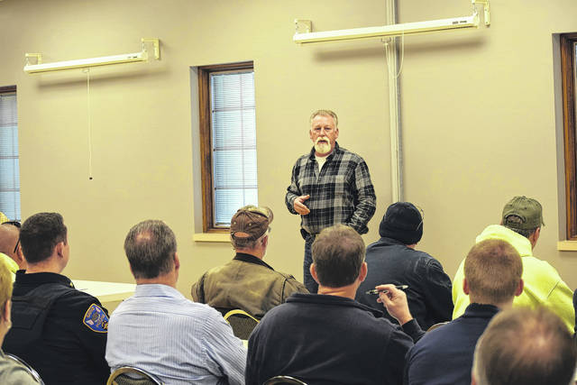 The bi-annual Winter Preparedness Meeting was held on Wednesday, Nov. 8 at the Preble County Educational Service Center. There, County Engineer Kyle Cross and Preble County Sheriff Mike Simpson discussed how Preble County citizens should prepare for the upcoming months.
