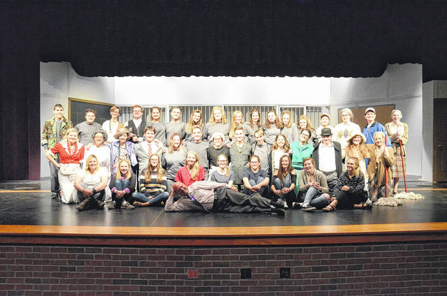The cast and crew of the Eaton High School fall play 'Help! I'm trapped in a High School' which will take place Friday and Saturday, Nov. 17-18 at the Eaton Performing Arts Center.