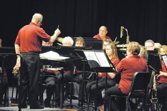 The Eaton Community Band held its annual Christmas Concert on Sunday, Dec. 10. The performance featured special guest soloist Laura Adkins, who has a personal connection to director Tad Stewart.