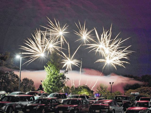 Record crowds turned out for the 2017 Old Fashioned Independence Day Celebration at the Preble County Historical Society. The annual celebration was held on Sunday, July 2. The evening concluded with music by Flat Out and a spectacular fireworks display.