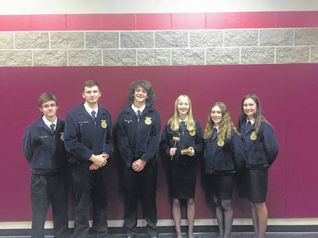 "Eaton MVCTC has a void to fill after five seniors and one junior ""retire"" from their high school advanced, (varsity), parliamentary procedure team after an astounding fifth place finish at the National FFA Convention this past fall."