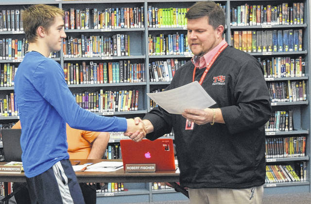Jacob Wells was recognized for earning First Team Soccer All Miami Valley West and First Team Soccer All Miami Valley.