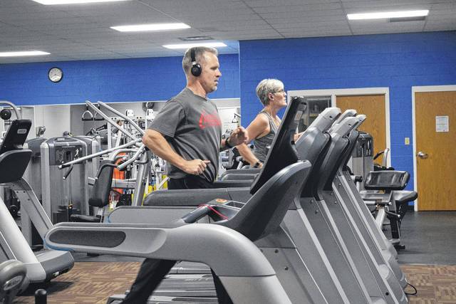 To celebrate its 15th year in operation, the Preble County YMCA opened the doors to the community on Thursday, Feb. 15. All were welcomed to take a tour, work out in the fitness center, swim in the pool, or even try a group exercise class.