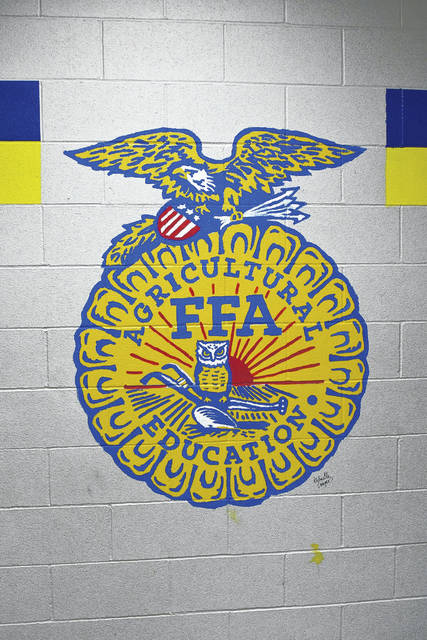 TVS FFA is working on repainting the Ag Ed Hallway to honor the history of the district's program. In weeks to come, all past American and State Degree earners will be invited back to their Alma Mater to put their paint-coated hand on the school wall.