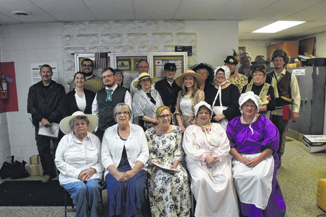 Tri-County North Elementary School had a historic cemetery walk scheduled for Friday, May 18, but had to cancel due to rain. Volunteers dressed as historic Lewisburg residents, with the intention of sharing their lives with the entire elementary school. This is another way the town is celebrating its bicentennial. The rain date is scheduled for Friday, Aug. 24.