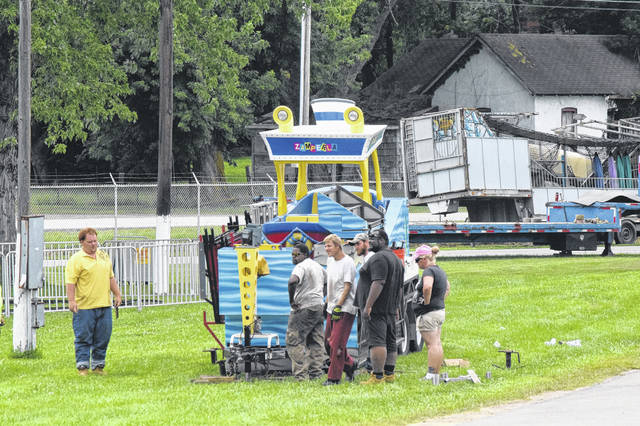 The Famous Preble County Fair begins today and runs until Saturday, Aug. 4. Rides began moving in on Monday, July 23, with animals moving in on Friday, July 27. General admission is $6 (eight and under free) with free parking. A weekly admission pass is $25. Senior Citizen Day will be held Wednesday, Aug 1 and feature free admission ages 65 and older. More information can be found at www.preblecountyfair.org.