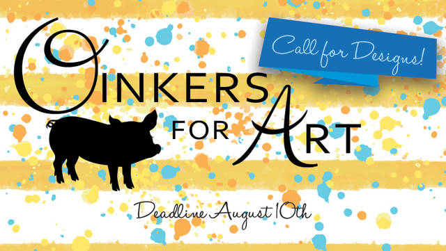 The Preble County Art Association is accepting designs from individuals or teams to be chosen to paint one of 10 pigs for this year's round of Oinkers for Art.