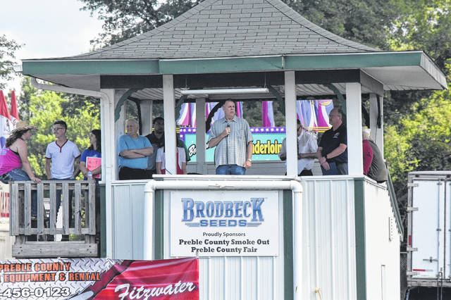 The Preble County Fair kicked off on Saturday, July 28, with a tribute to veterans and those who have died serving the United States of America.
