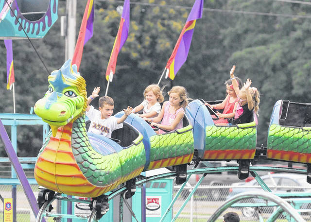 There's something for people of all ages to enjoy at the Preble County Fair, whether it's fair food or the fun of watching competitions of all sorts. The midway gives children and families a chance to enjoy games and traditional amusement rides. The168th edition of the fair runs through this Saturday, Aug. 4.
