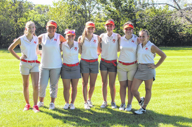 National Trail's girls golf team finished second in the CCC, falling to Fort Loramie by a single shot in the post-season tournament.