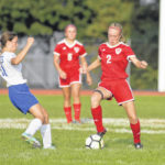 Eaton, South girls soccer team collect wins