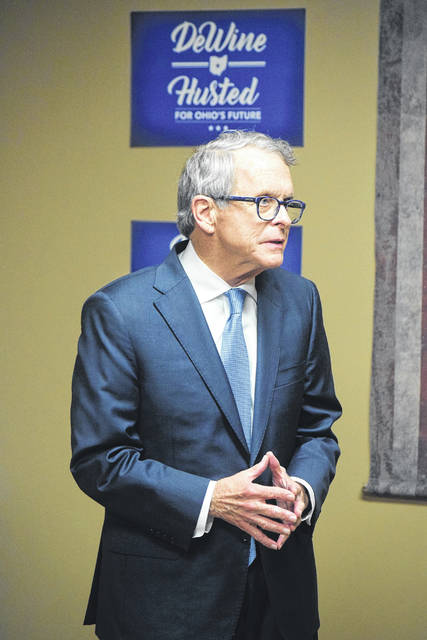 "Mike DeWine and his campaign stopped by The 1808 Cafe in Eaton on Tuesday, Oct. 30 to share his ""vision for Ohio."""