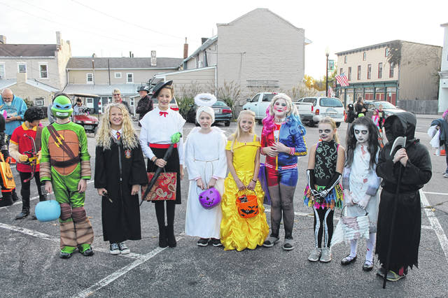 The Kiwanis Halloween Contest Winners from the Oct. 30 events were: Age 8-12 year old winners: Scariest: First — Madison Nelson, Second — Markas Lewis, Third — Annie Zimmer. Prettiest, First — Makenzye Stansberry, Second — Baylee Baylee, Third — Jenna Henks. Most original, First — Rylee Ray, Second — Noel Bassler, Third — Pierce Henkes.