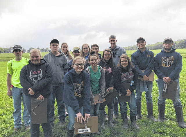 To start off their Career Development Events (CDE) season, Twin Valley South Miami Valley Career Technical Center (MVCTC) FFA Chapter members competed at the District Five Soil Judging.