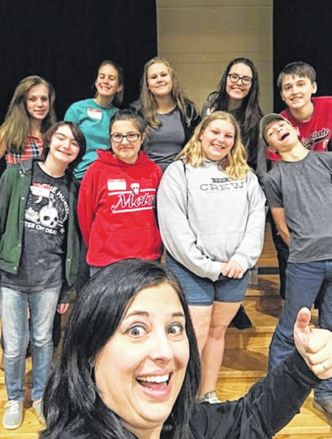 On Sept. 8, many of Twin Valley South Miami Valley Career Technical Center (MVCTC) FFA first-year members traveled to Versailles high school for the annual Greenhand Conference.