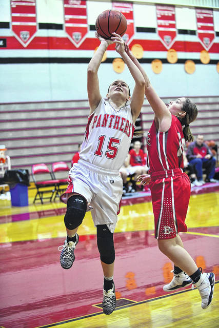 Tri-County North senior Shyanna Baker will play a key role for the Panthers this season. She was among the top rebounders in the Cross County Conference last season.