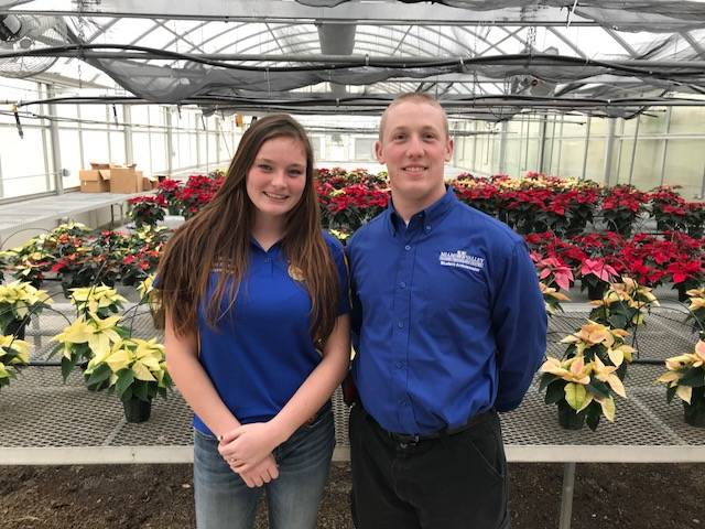 MVCTC EBITA Department Announces November Students of the Month – Lexi Stiner (National Trail) and Brennan Halderman (Eaton).