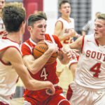 Twin Valley South's boys basketball team regains bragging rights with win over Tri-County North