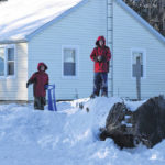 Winter storm hits area