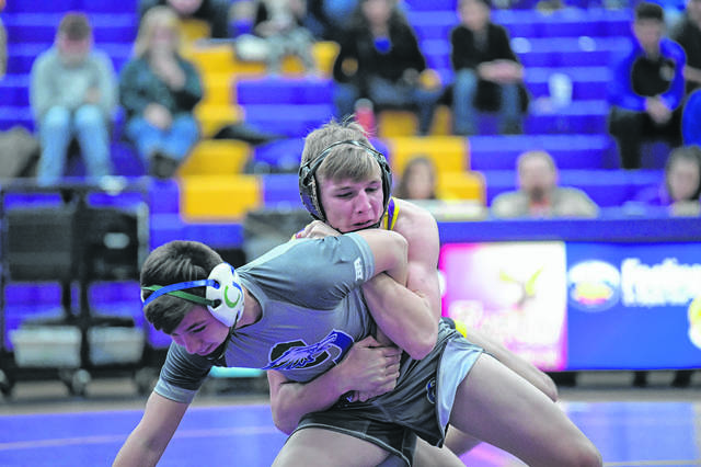 Eaton's Wade Monebrake will bring a 24-2 record into the tournament and will be considered one of the favorites in the 145-pound weight division.