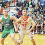 Trail swats Bees, 70-29