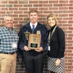 Eaton FFA student honored at National Convention