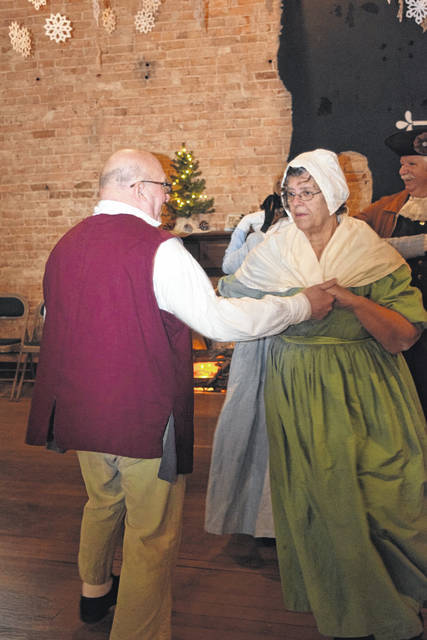 The Lewisburg Snow Ball was held on Saturday, Jan. 26. The Regency period dance was an extension of Lewisburg's bicentennial celebration, bringing the town together to enjoy historical food and dance.