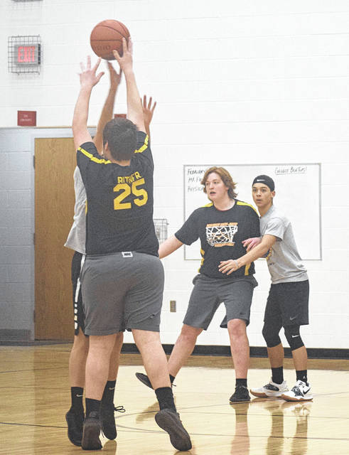 The Twin Valley South Miami Valley Career Technical Center (MVCTC) FFA Chapter held its second annual basketball tournament on Saturday, Feb. 9. Seven different schools competed for the coveted Ag Ball trophy.