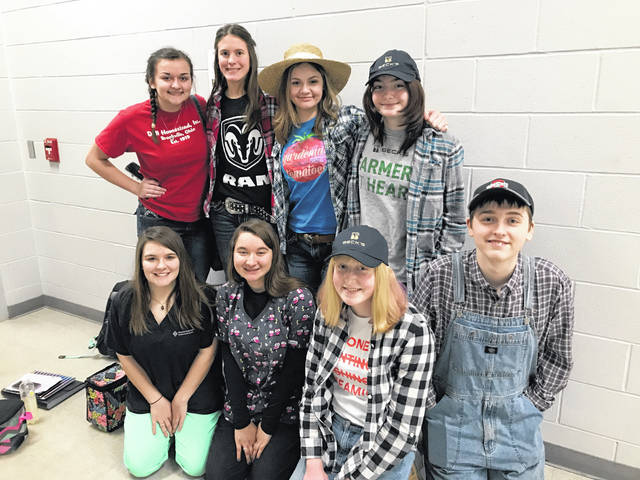 Several Preble County schools recently celebrated National FFA Week by hosting various events. The Twin Valley South Chapter hosted various dress up days, which members, non-members, and teachers alike all participated in.