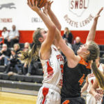 Shawnee's girls basketball team completes sweep of county opponents