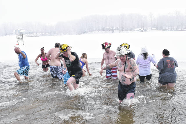 Gasper Township Fire and EMS held a pancake breakfast and Polar Plunge on Saturday, Feb. 2. All proceeds from the department fundraiser go toward new fire and EMS equipment.
