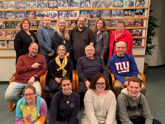 The cast of the Brookville Community Theatre production includes: Dad-Larry Lindstrom, Beth-Tori Coss, Janet-Jennifer Vance, Bunny-Jenna Vance, Bud-Tim Fitzharris, Tracy-Emma DeCan, Mrs. Draper-Kathy DeVorak, Aunt Rose-Susan Robert, Uncle Leo-Don Cordes, Tony-James Nelson, Vinny-Kendal Garret, Paul-Josh Wissinger, Emily-Emily Monnig, Mrs. Wakowski-Sheryl Koontz and Officer Hensley-John Wysong.