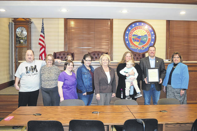 PCBDD kicked off DD Awareness Month with a proclamation read by the Preble County Commissioners on Monday, March 4.
