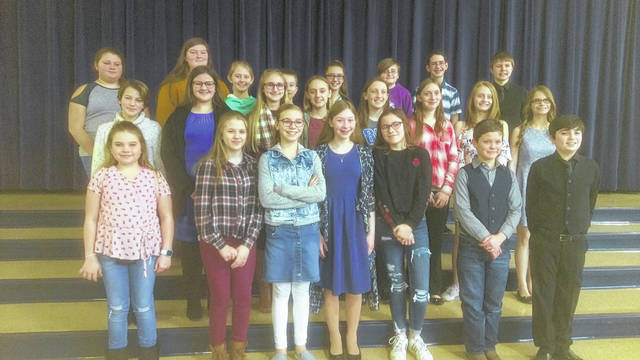 Tri-County North Local Schools had 22 students participate at District 7 History Day in Piqua on Saturday, March 2. Six of those students are advancing to state competition at Ohio Wesleyan College on April 27.